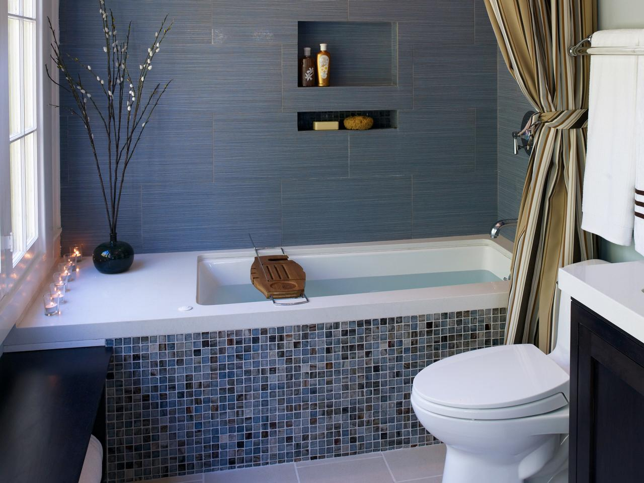 Mosaic Tile Over Bathtub - Bathtub Ideas