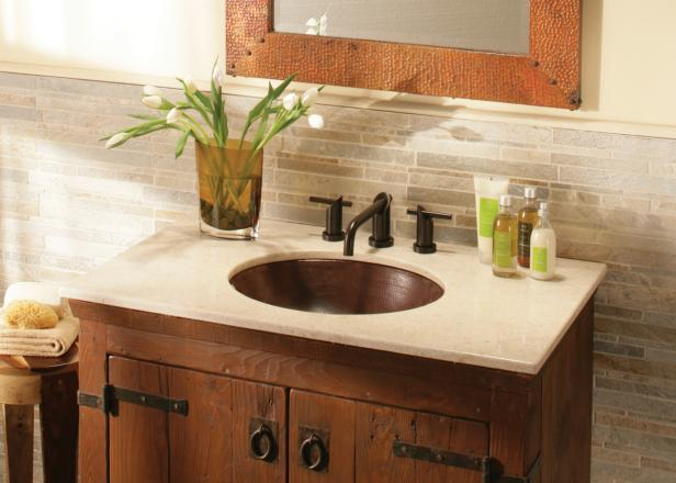 Crema Vanity Top - Vintage Bathroom Vanities HGTV