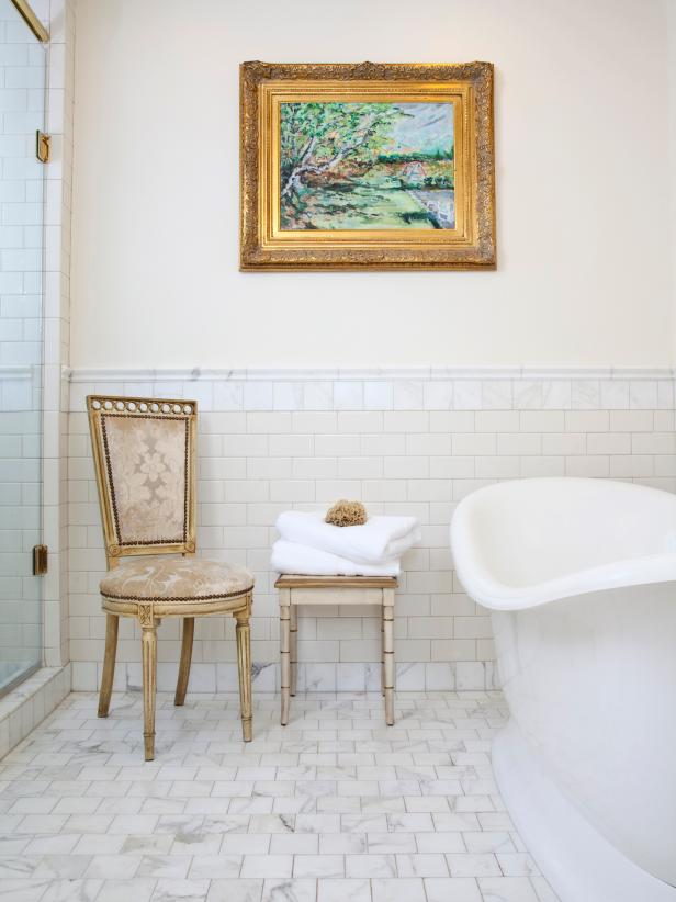 20 stunning interiors that mix metallics hgtv European bathroom design gallery