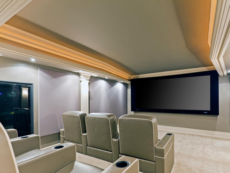Home Theater Design Ideas Pictures Tips Options HGTV Amazing Basement Home Theater Design Ideas Property