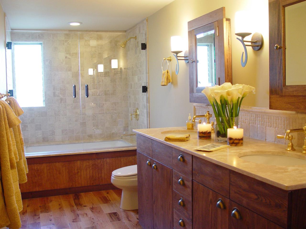 Designing a full bath hgtv - Small full bathroom remodel ideas ...