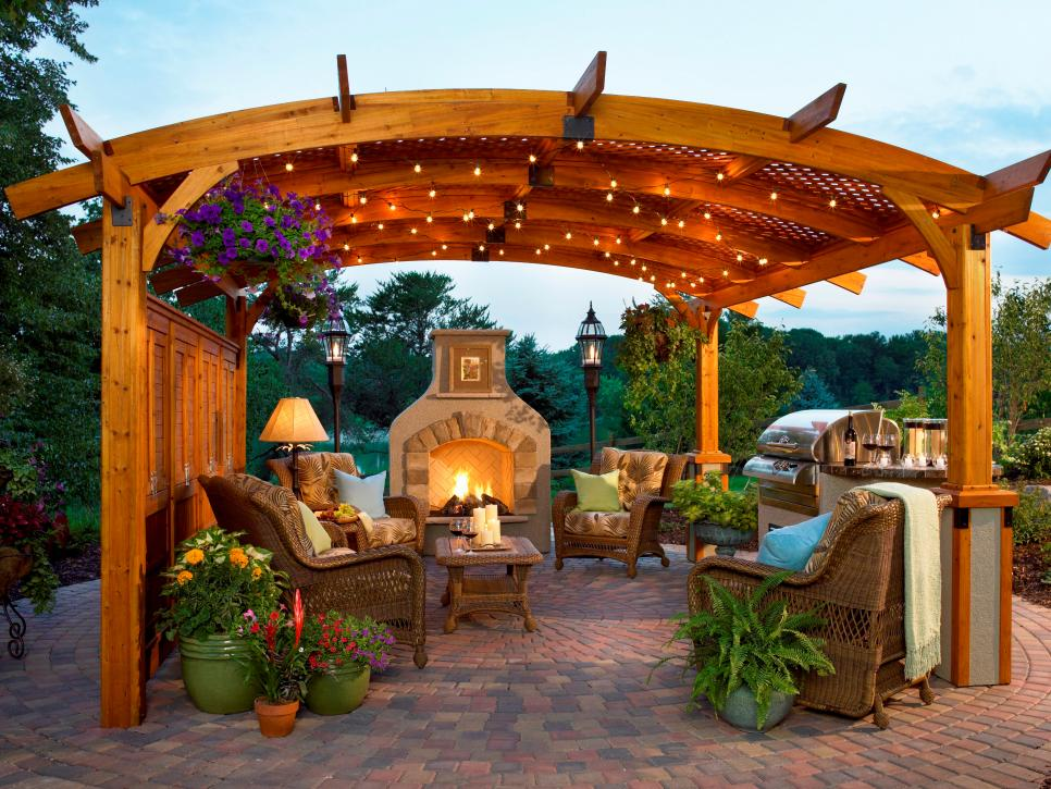 Backyard With Pergola 36 backyard pergola and gazebo design ideas | diy
