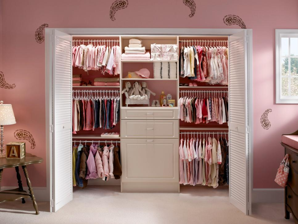 a closet that grows with your little girl hgtva closet that grows with your little girl