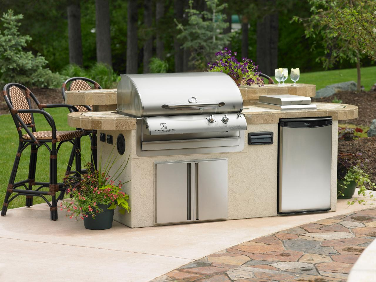 Utilities In An Outdoor Kitchen