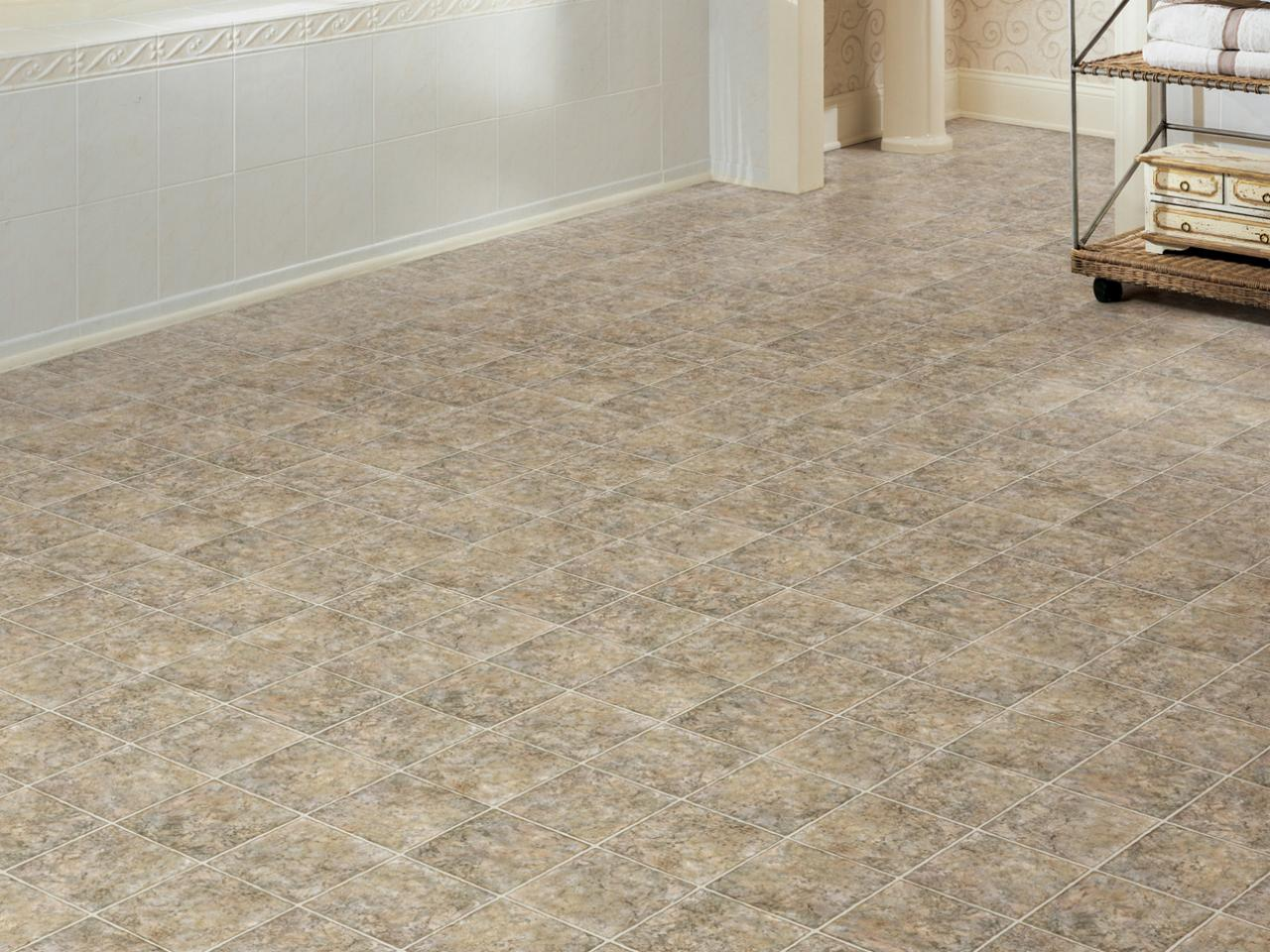 Vinyl Low Cost And Lovely HGTV - Bathroom floor materials