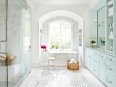 Spa Inspired Master Bathroom