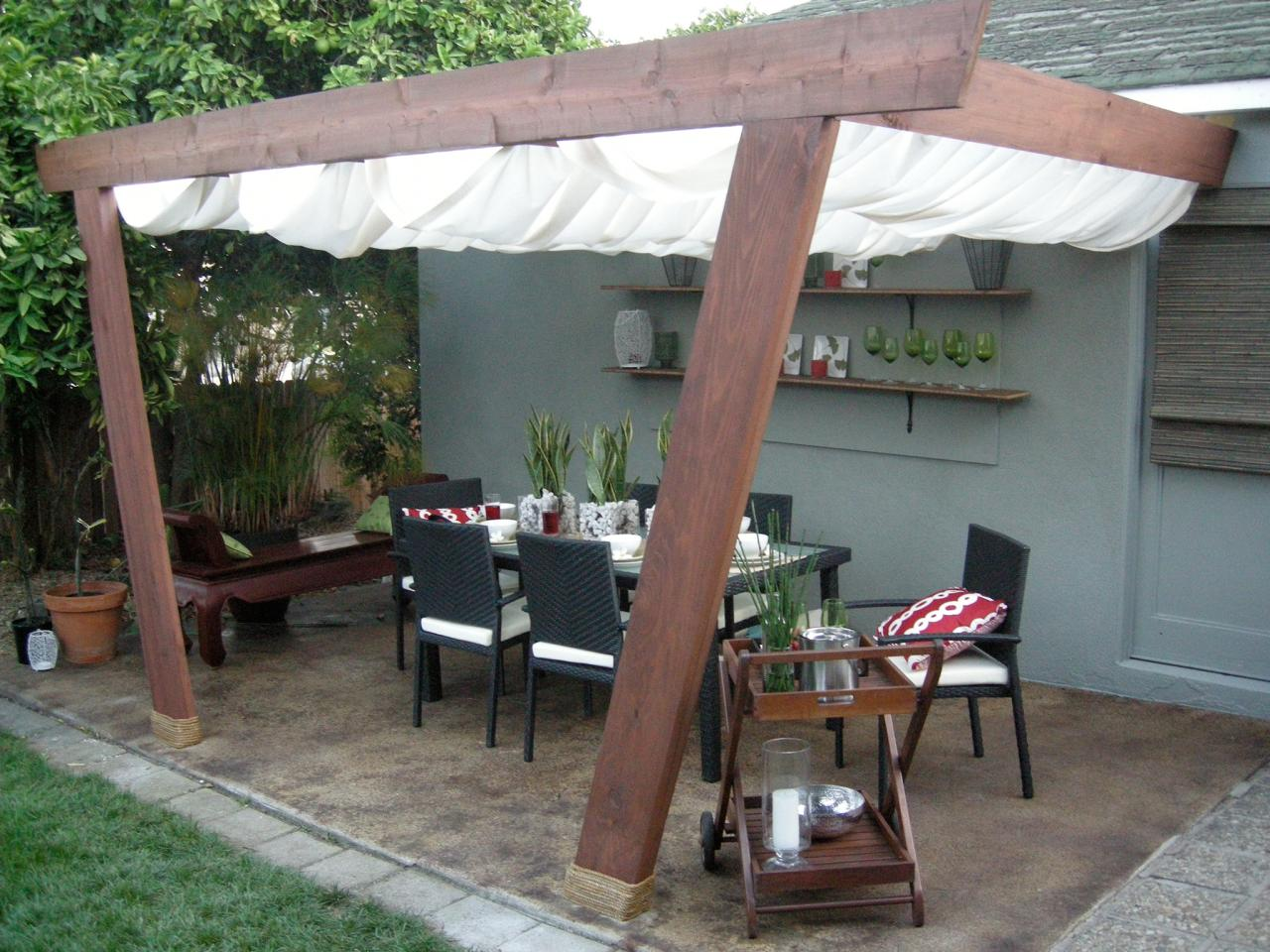 Patio Covers and Canopies & Patio Covers and Canopies | HGTV