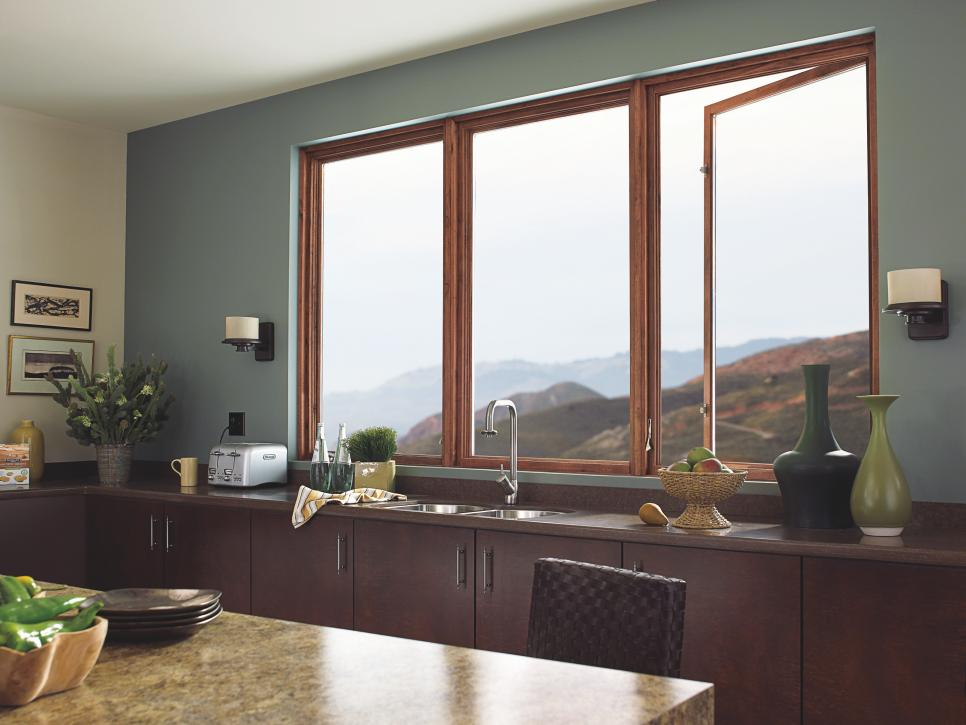 8 types of windows hgtv for Kitchen ideas no window