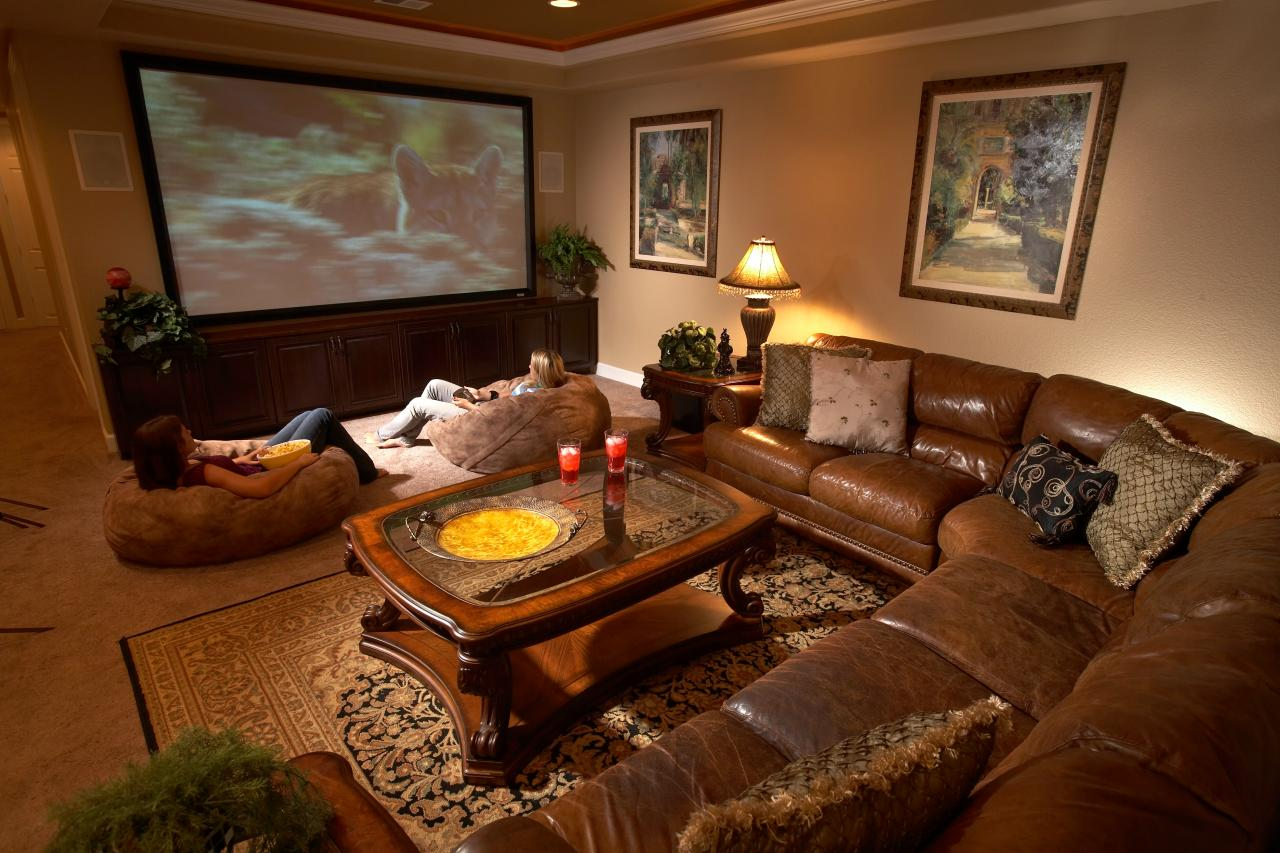 Ordinaire Top Six Basement Spaces. From Media Rooms To Home Offices ...