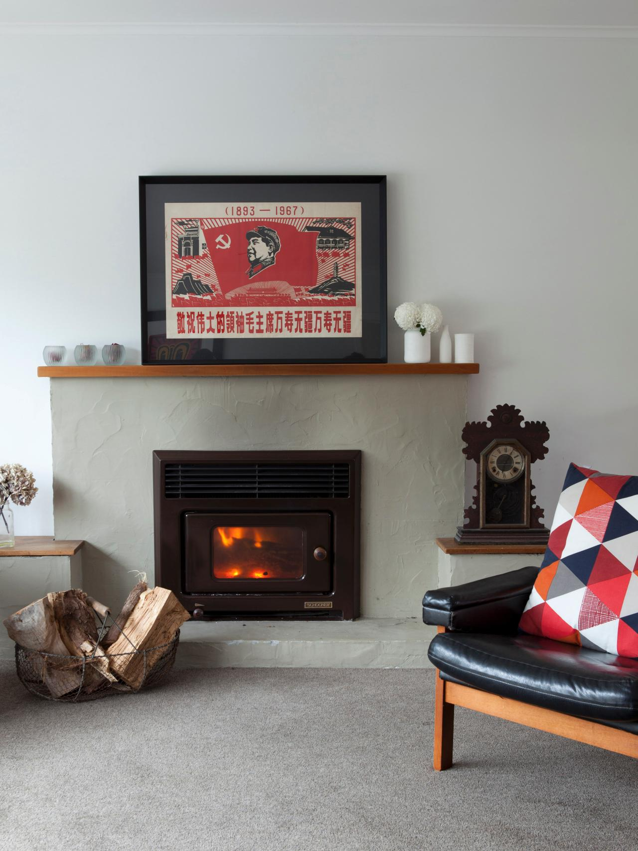 Get expert design ideas and tips from HGTV Remodels for adding and decorating a hot fireplace in your living room.
