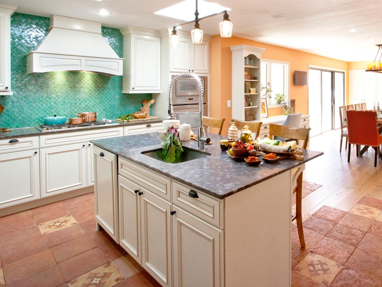 French Kitchen Islands