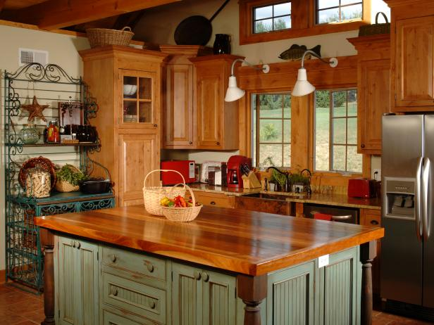 country kitchen island designs country kitchen islands hgtv 170