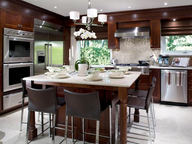 island in with for design seating built ideas islands kitchen