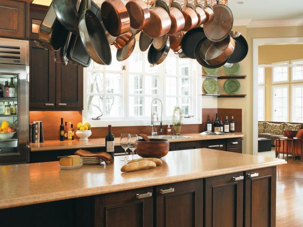 Kitchen Pot Rack