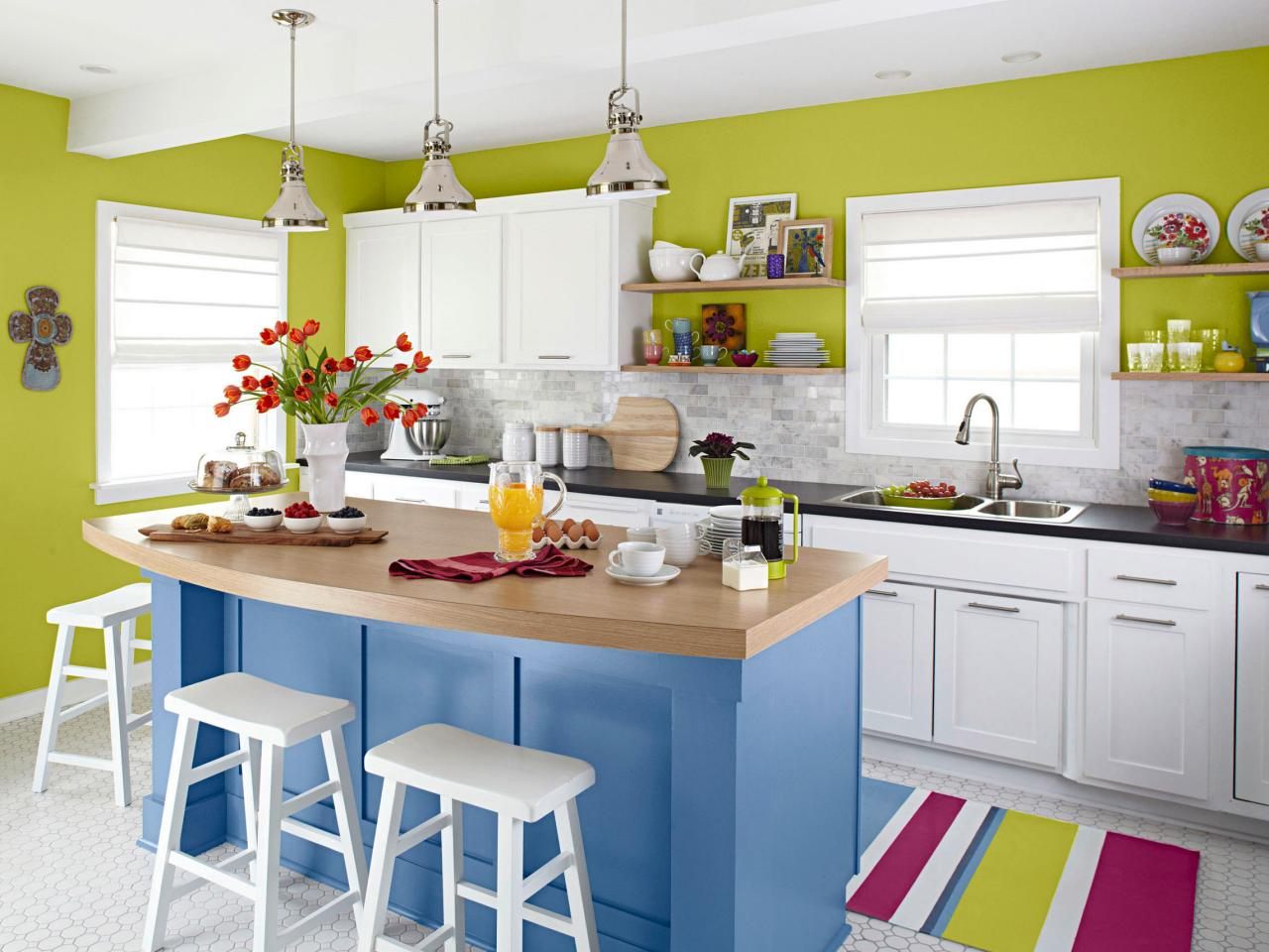 Make a statement in your kitchen with these 10 colors for Kitchen design 9