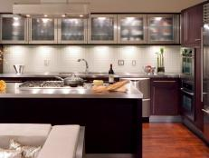 Glass kitchen cabinet doors pictures ideas from hgtv hgtv glass kitchen cabinet doors planetlyrics Image collections