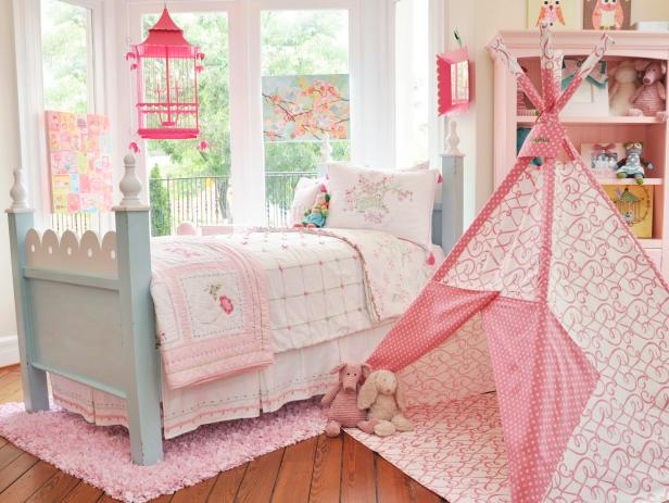 Pink Bedrooms: Pictures, Options & Ideas | HGTV