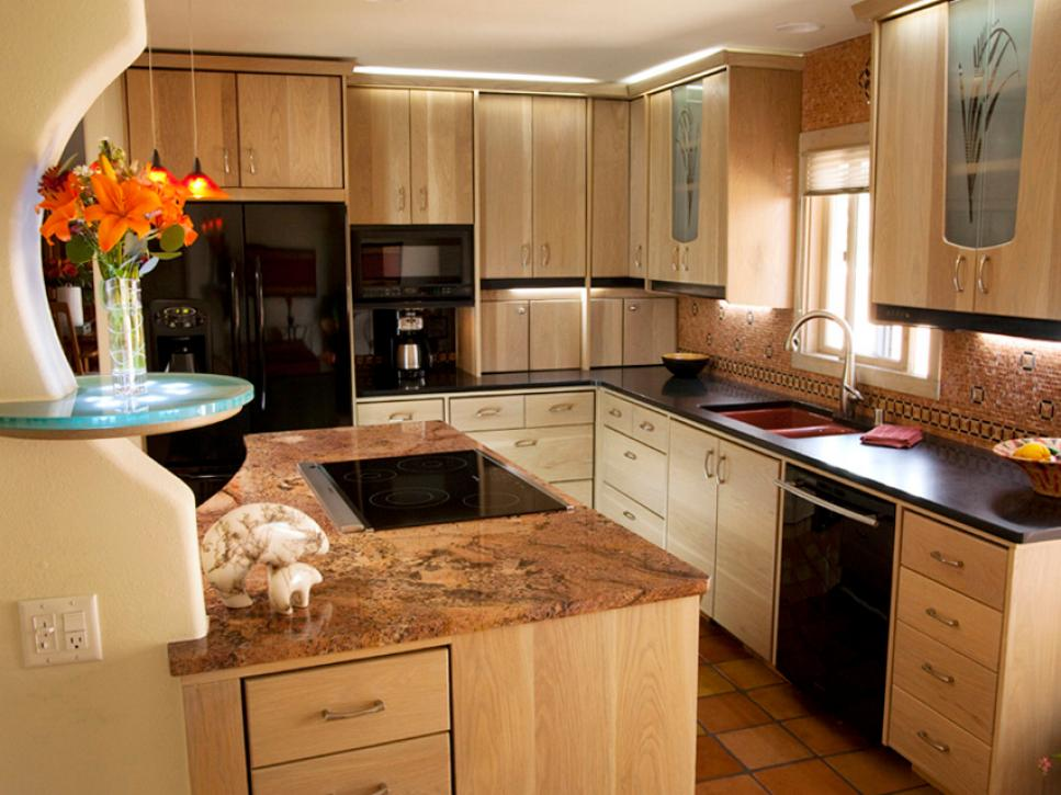 inspired examples of granite kitchen countertops hgtv