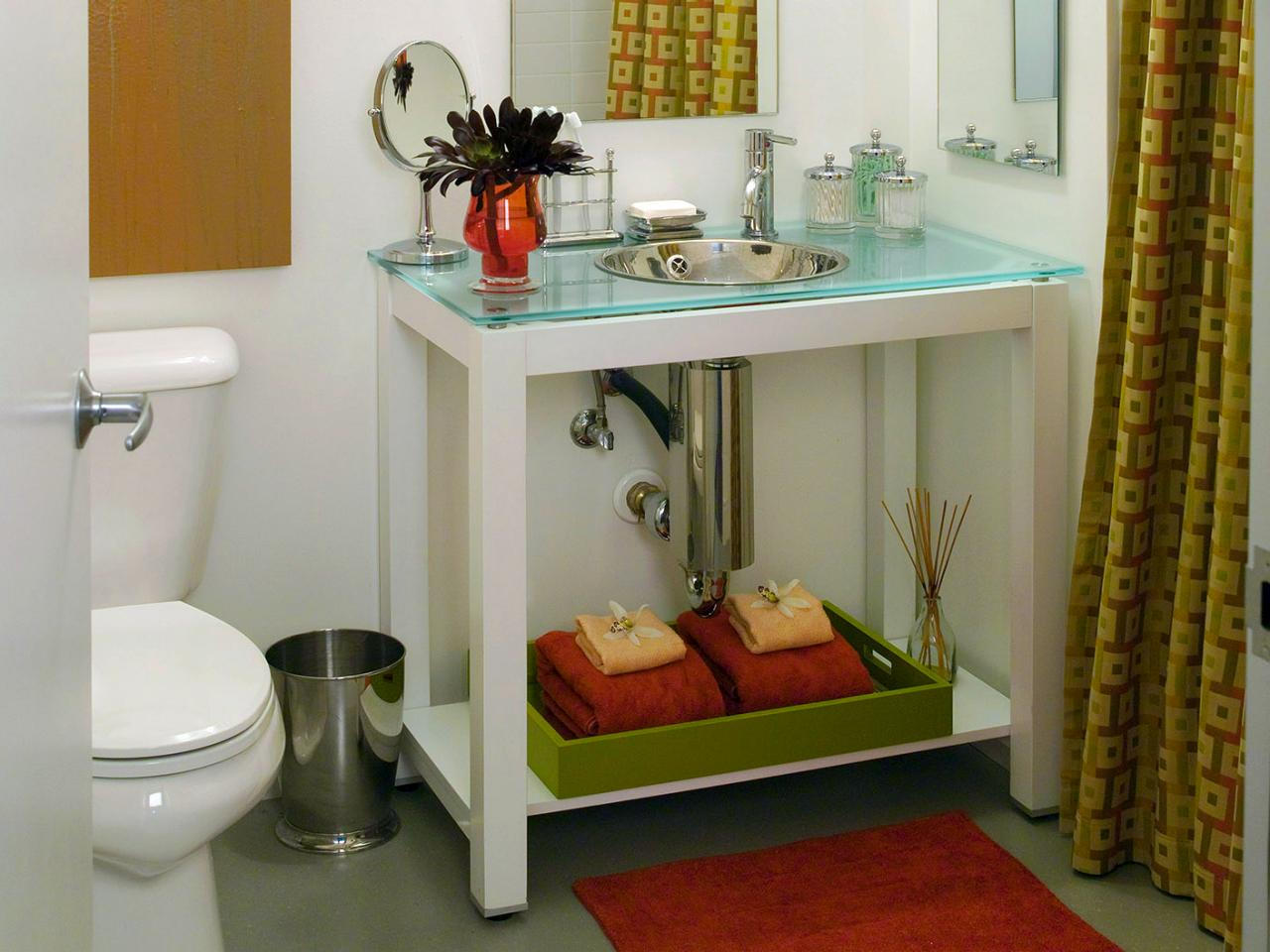 Vanity Tray For Bathroom Home Designs Inspiration