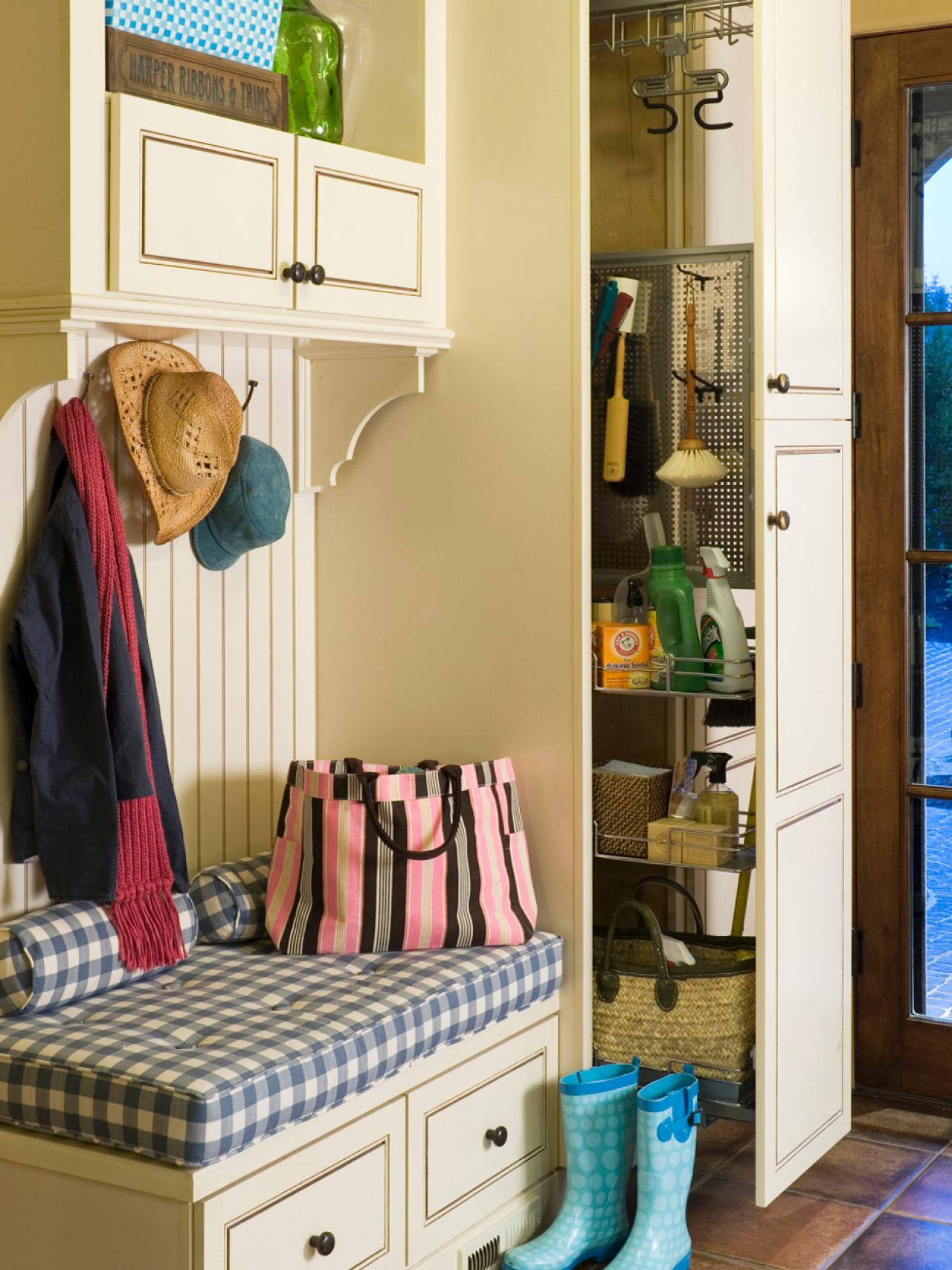 organising small bedroom finding a place for your mudroom hgtv 12747