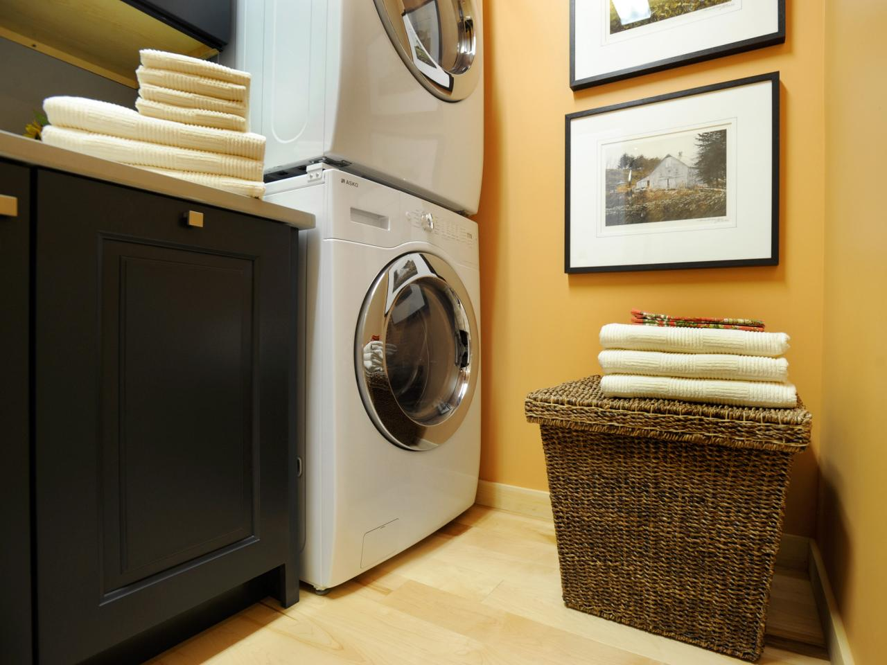Small Laundry Room Storage Ideas