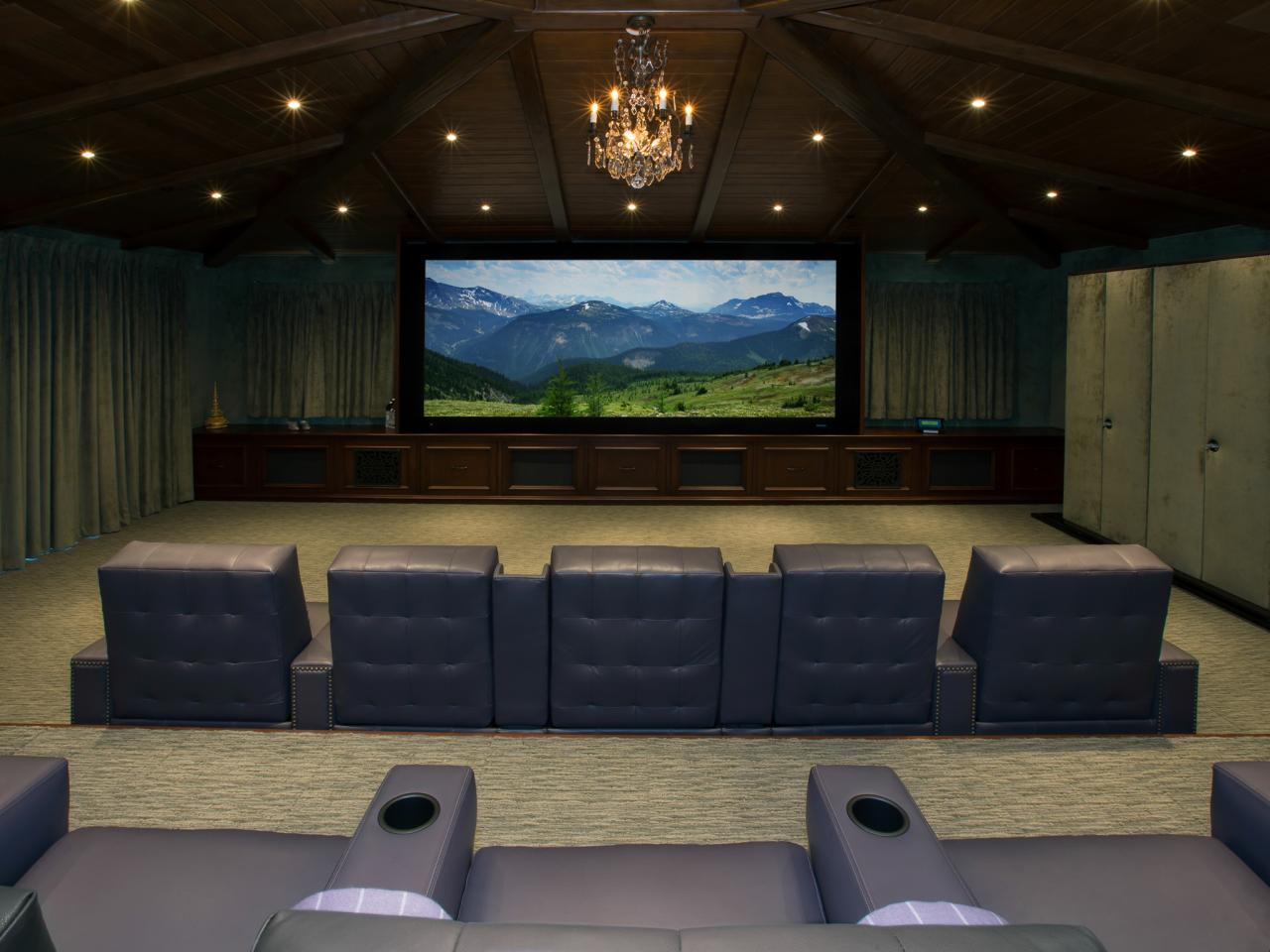 Media Room Seating Ideas Pictures Options Tips amp Ideas