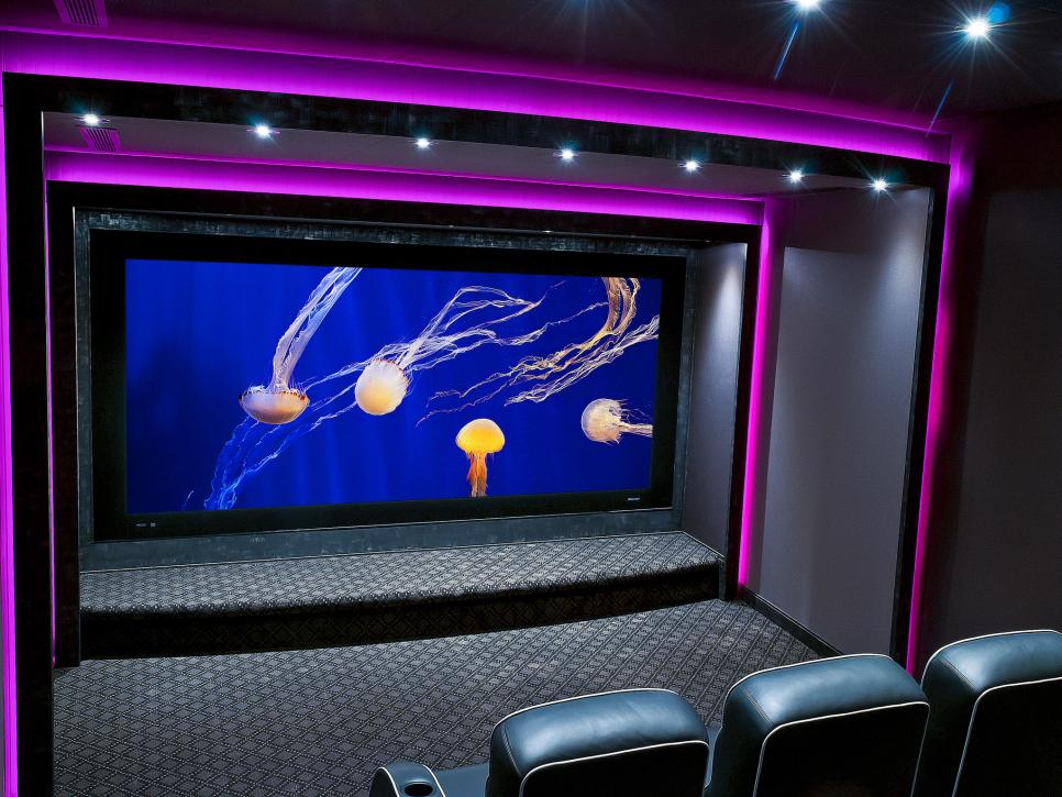 Basement Home Theater Ideas Pictures Options Expert Tips HGTV Inspiration Basement Home Theater Ideas