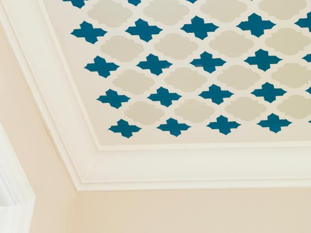 Stencils and Stenciling Ideas for Walls and More | HGTV
