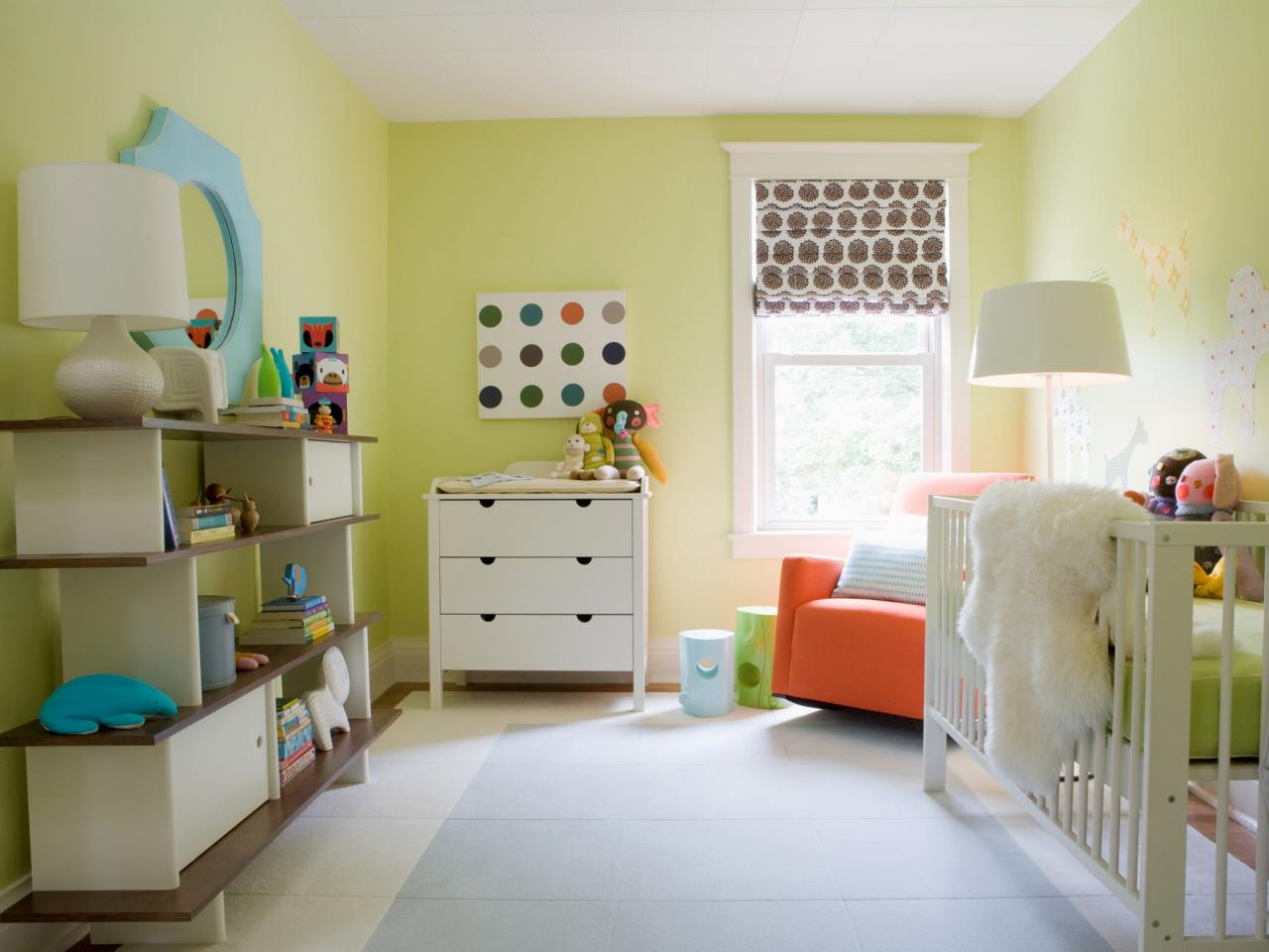 Nursery Color Schemes Get Ready For Babys