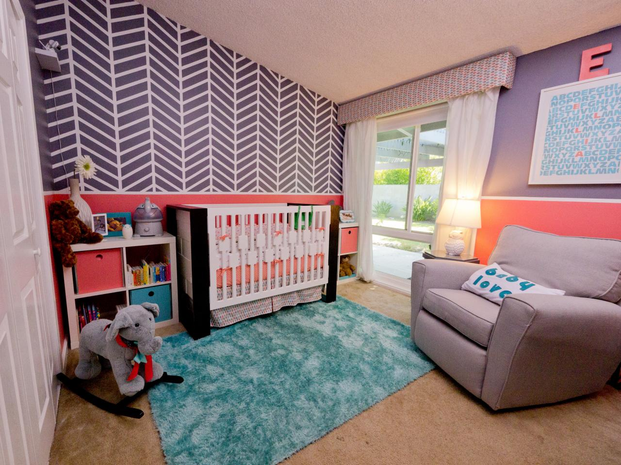 Original Child Style 106 Nursery Chevron Wall 4x3