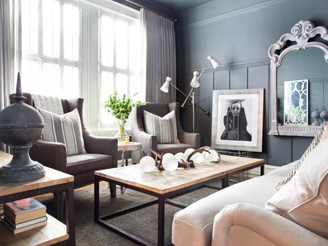 Apartment Makeover Mixes Masculine With Feminine Design