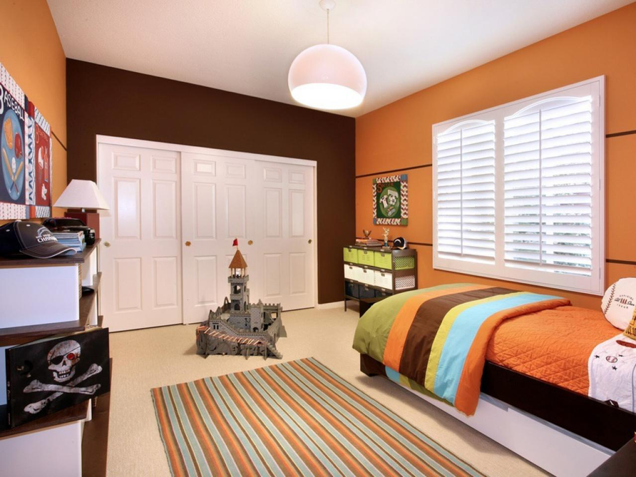 . Orange Bedrooms  Pictures  Options   Ideas   HGTV