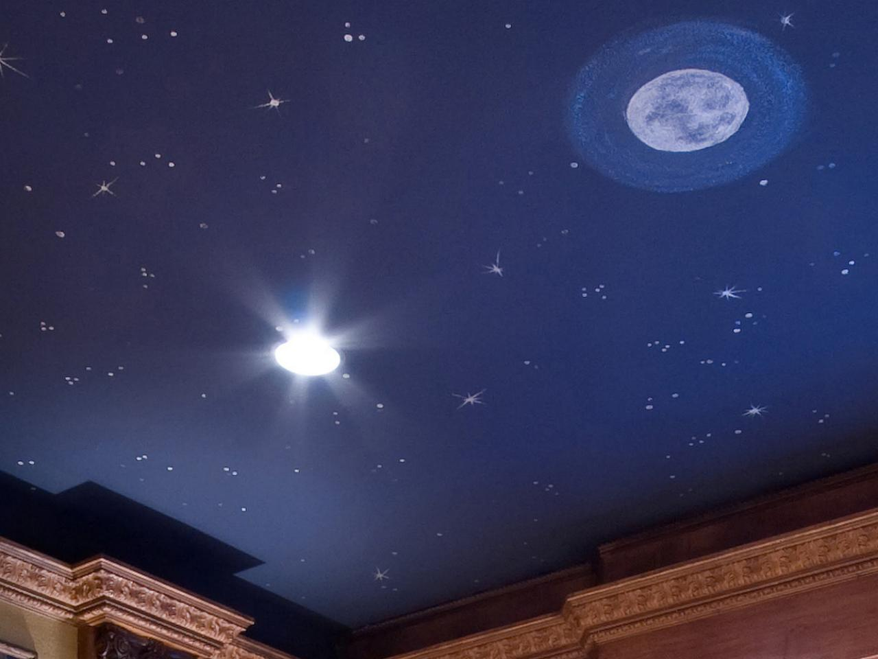 Bedroom Ceiling Stars