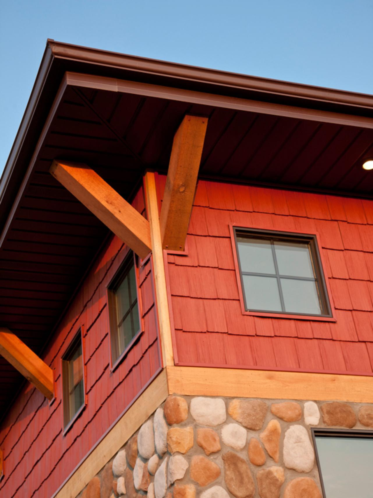 Top 6 exterior siding options hgtv - What type of wood for exterior trim ...