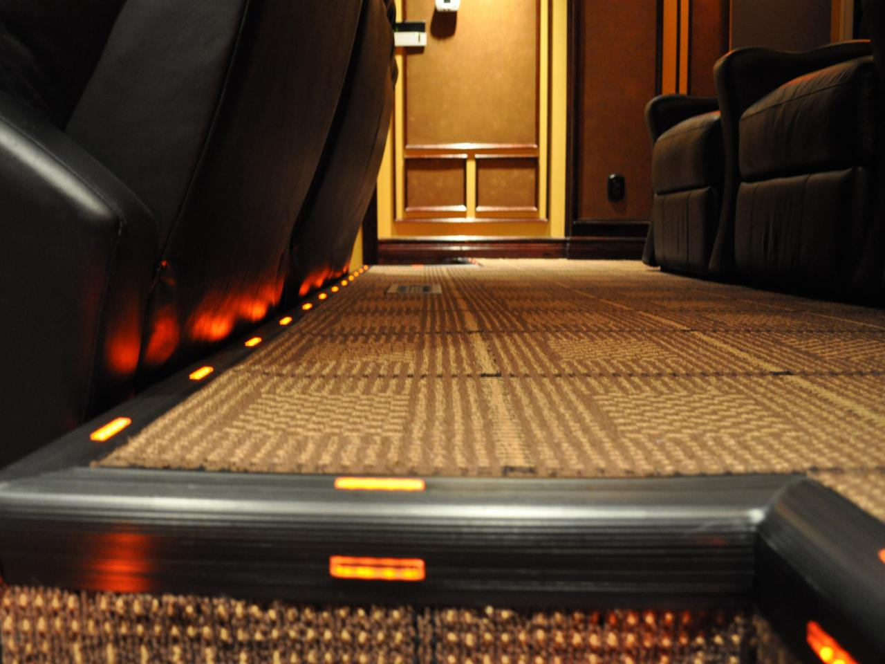 Home Theater Carpet Ideas