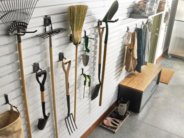 Garage Storage: Hooks and Hangers