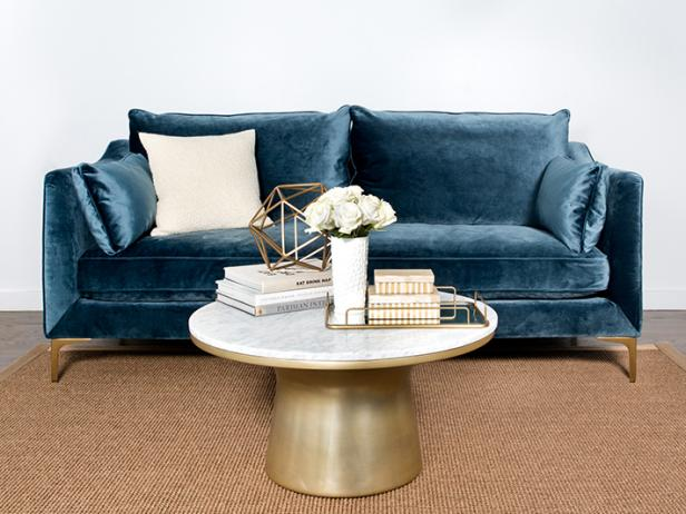 11 On-Trend Velvet Sofas to Refresh Your Living Room