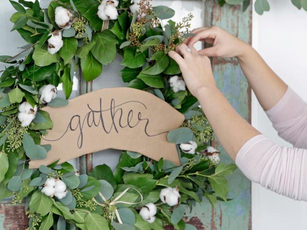 How To Make A Greenery Garland Wreath