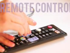 Have YOU ever cleaned the remote control?