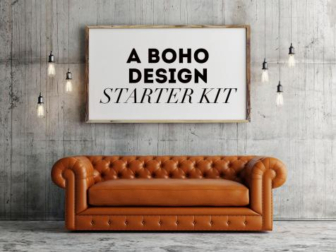 Design Starter Kit: 5 Must-Haves for a Boho-Chic Look