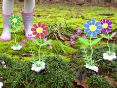 Turn junk mail into blooming wildflowers. Seriously!