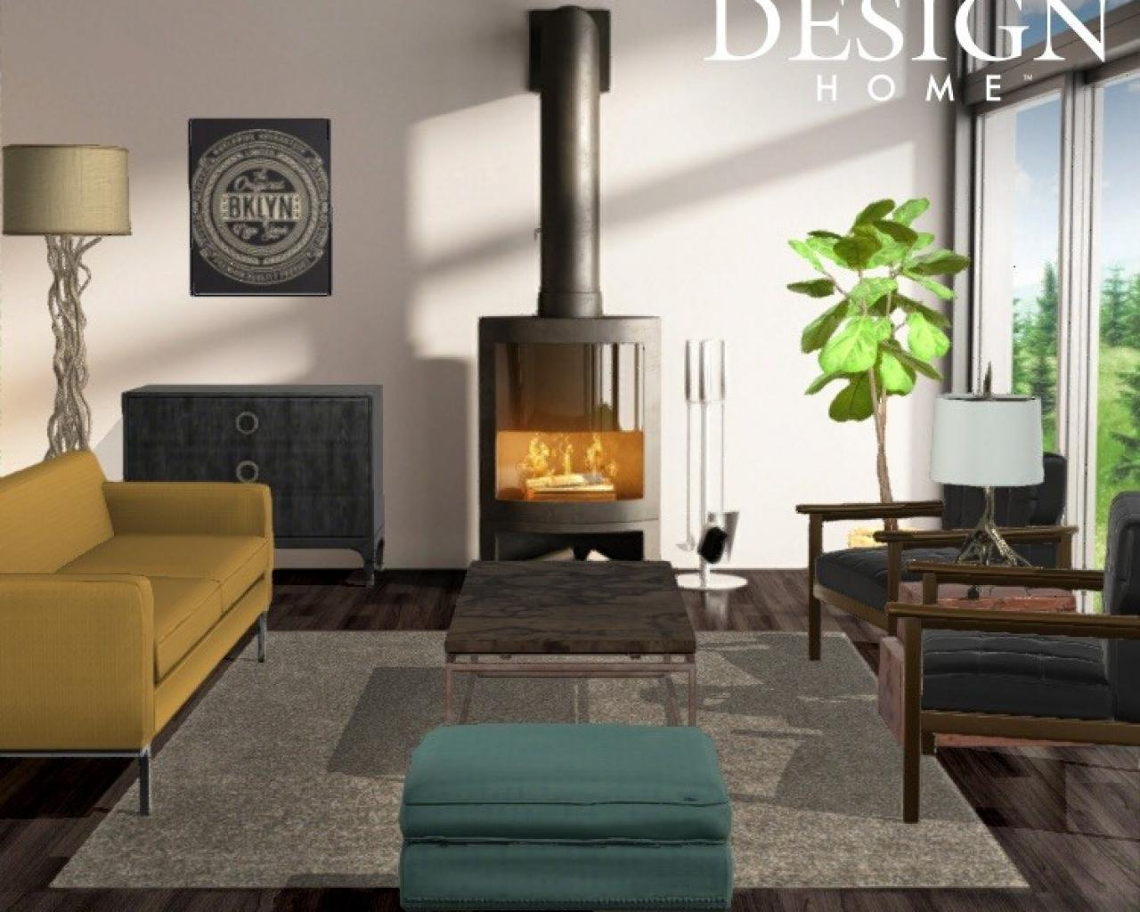 Keriu0027s Design: Cozy, Modern Living Room
