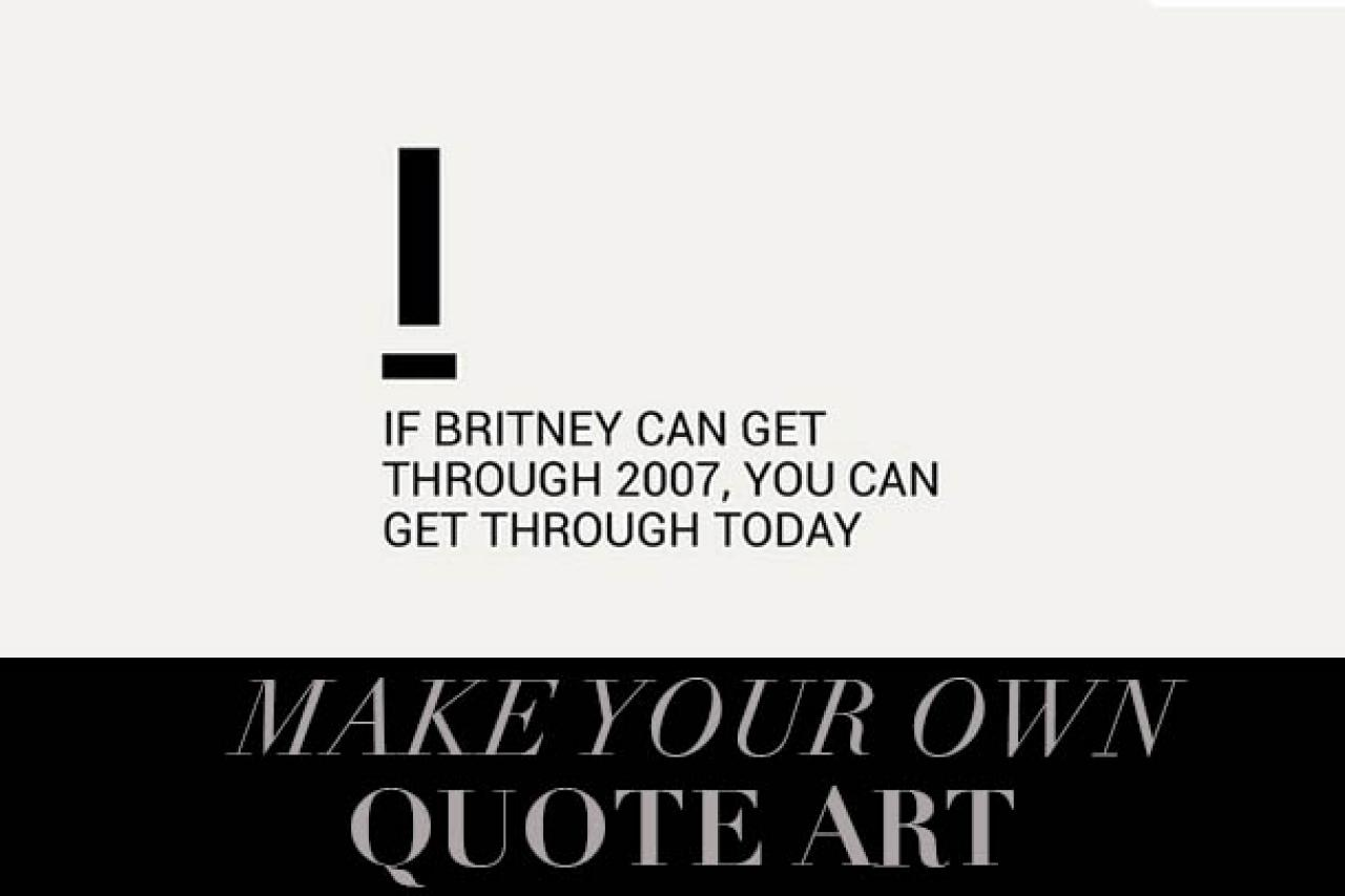 How To Turn Quotes Into Art Hgtv S Decorating Design Blog Hgtv
