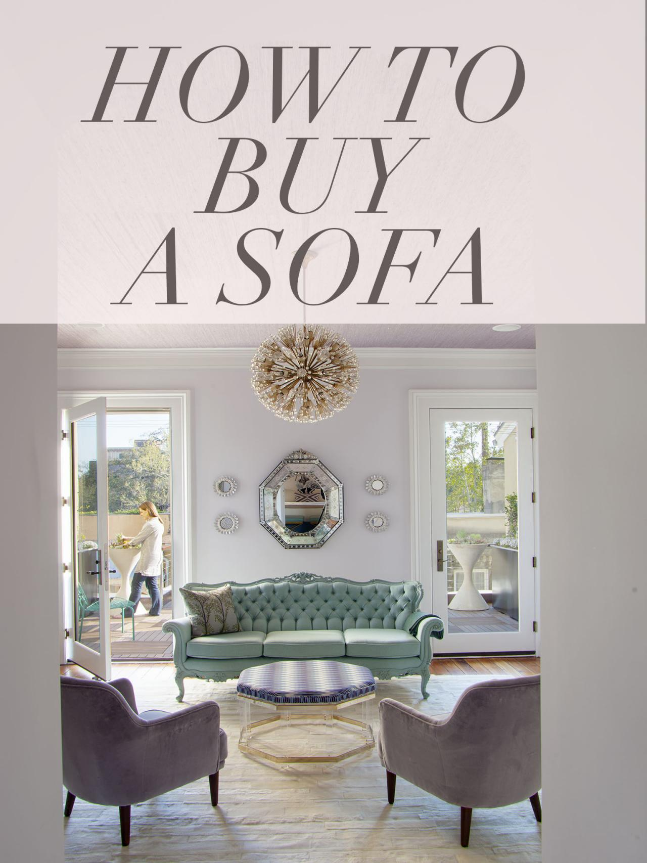 How to Buy a Sofa in 7 Steps | HGTV\'s Decorating & Design Blog | HGTV