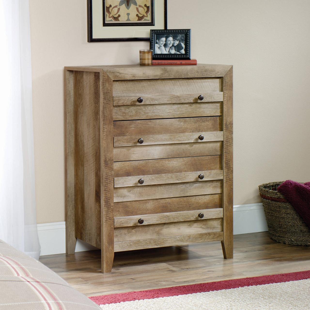 and dresser furniture set dressers the bedroom weston n wood rustic mirror home b depot chests drawer pine