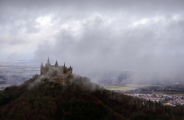 RX - Hohenzollern Castle in Germany, used for A Cure for Wellness
