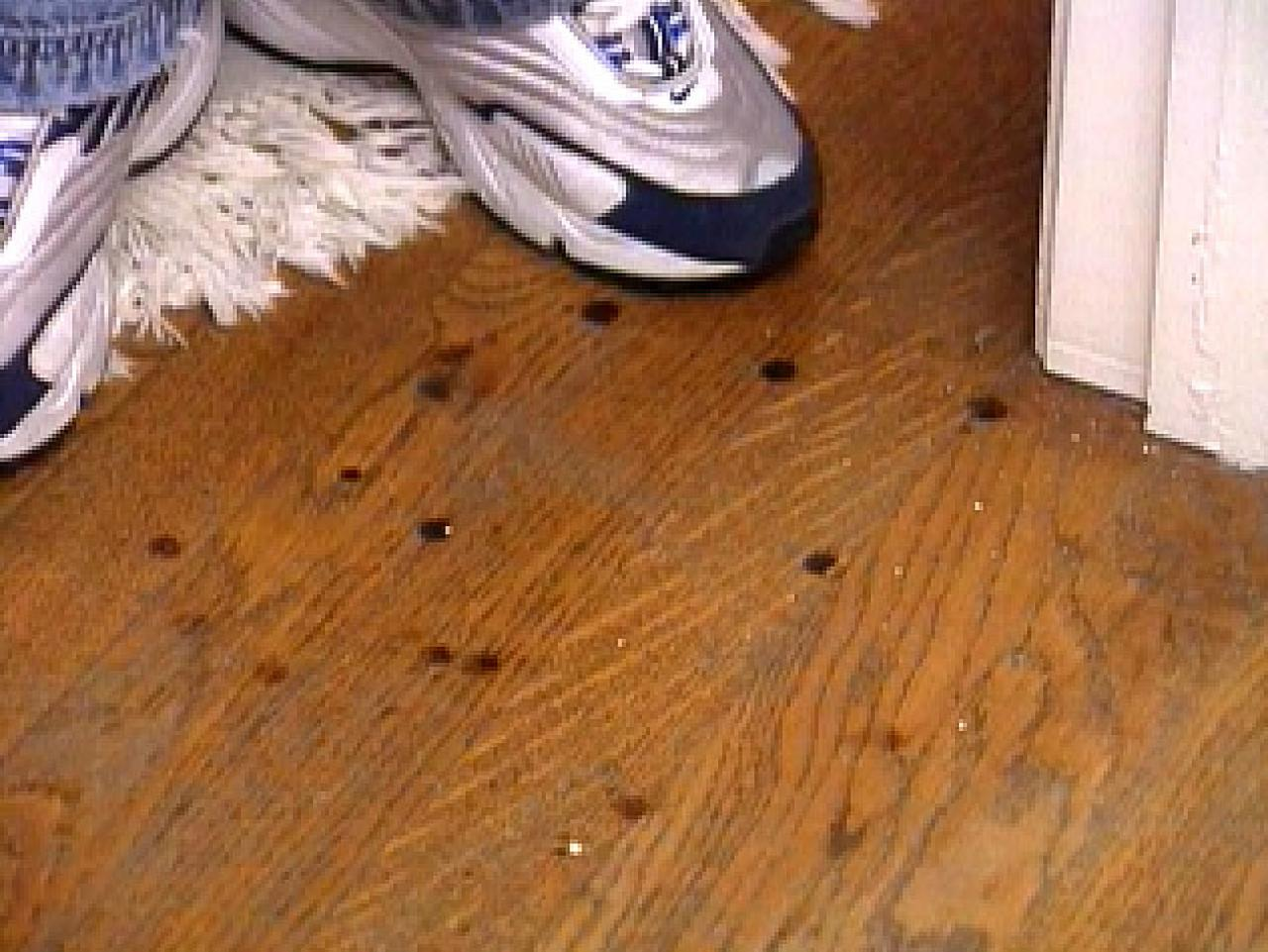 Remove Burn Marks On A Hardwood Floor