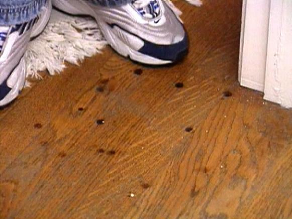 How To Remove Burn Marks On A Hardwood Floor HGTV - How to clean black rubber gym flooring
