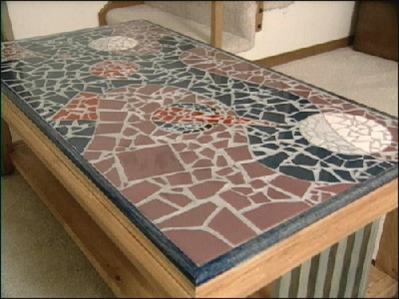 How to mosaic tile floor and decorations shop floor and how to make a mosaic tile table design hgtv how to make a mosaic tile table ppazfo