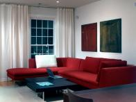 regal red sectional sofa